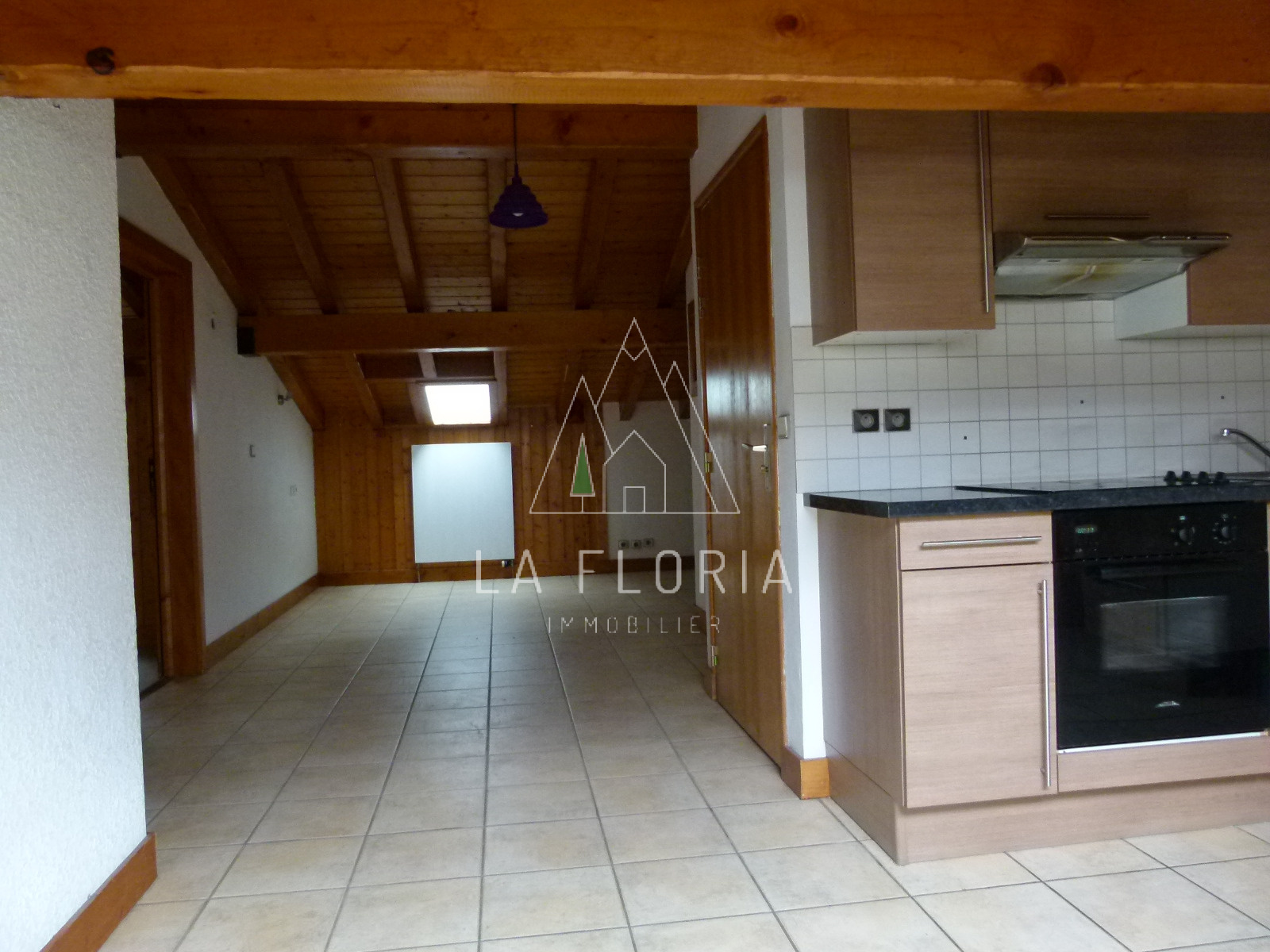 TOP FLOOR 2 BED / 2 BATH APARTMENT NEAR SKI AND GOLF, CHAMONIX LES PRAZ