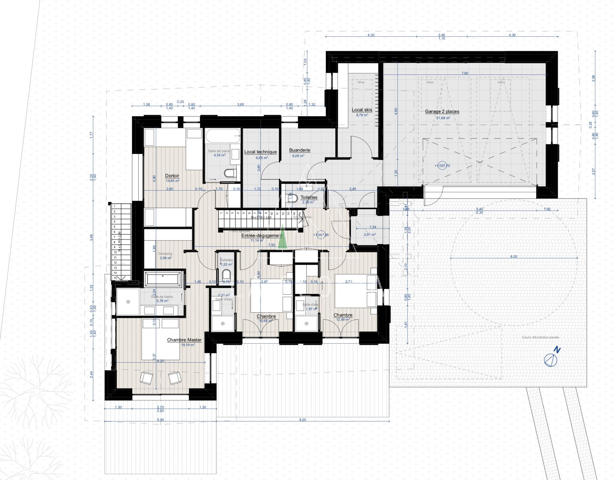 UNDER OFFER / LUXURY NEW BUILD CHALET LIARET B - LES PRAZ CHAMONIX