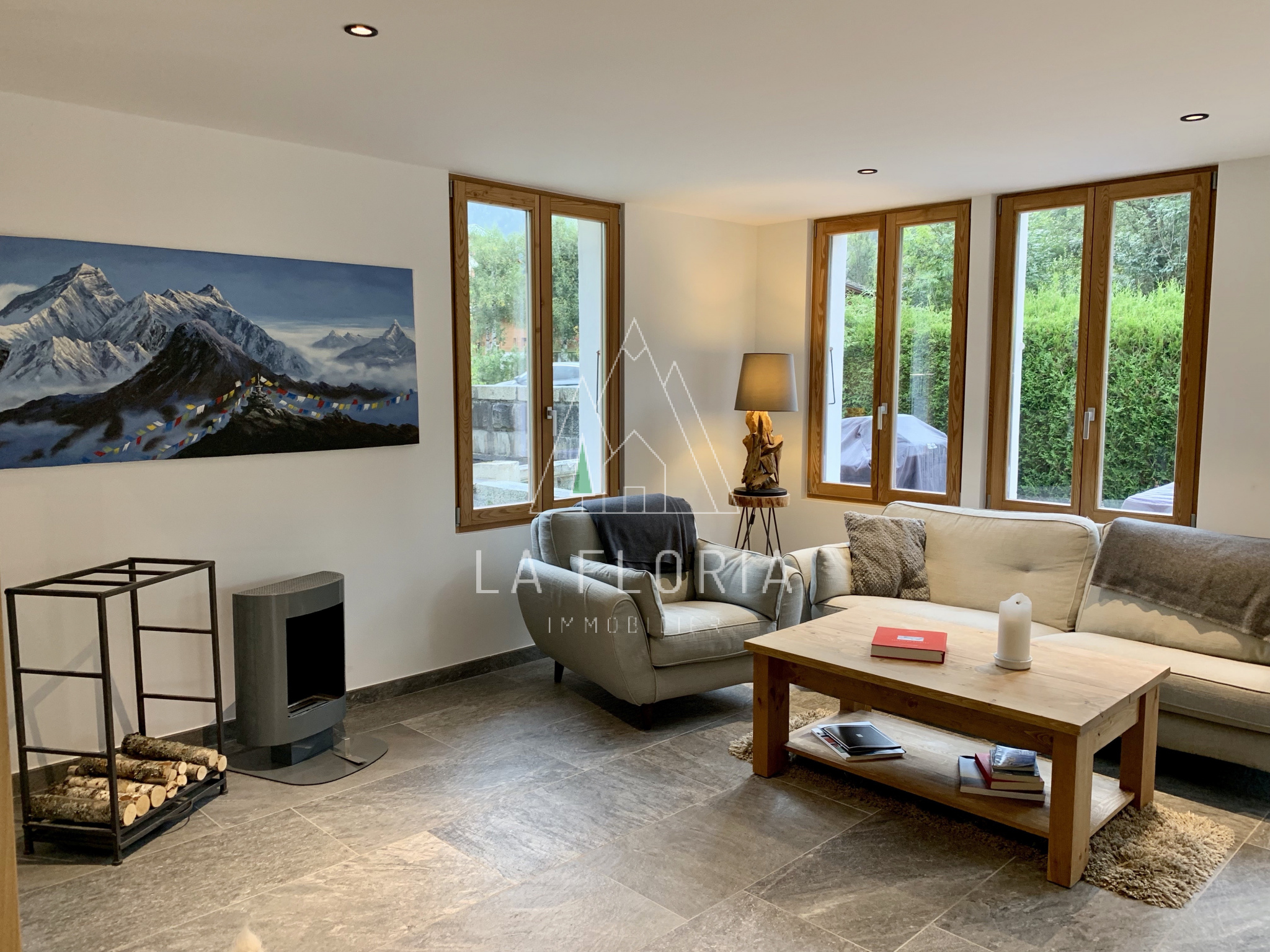 REFURBISHED CHALET WITH SELF CONTAINED APARTMENT, CHAMONIX