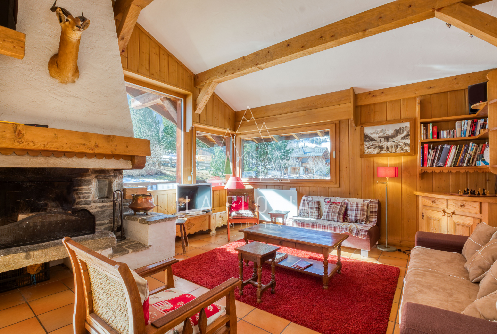 LARGE CAPACITY FAMILY CHALET, LES HOUCHES