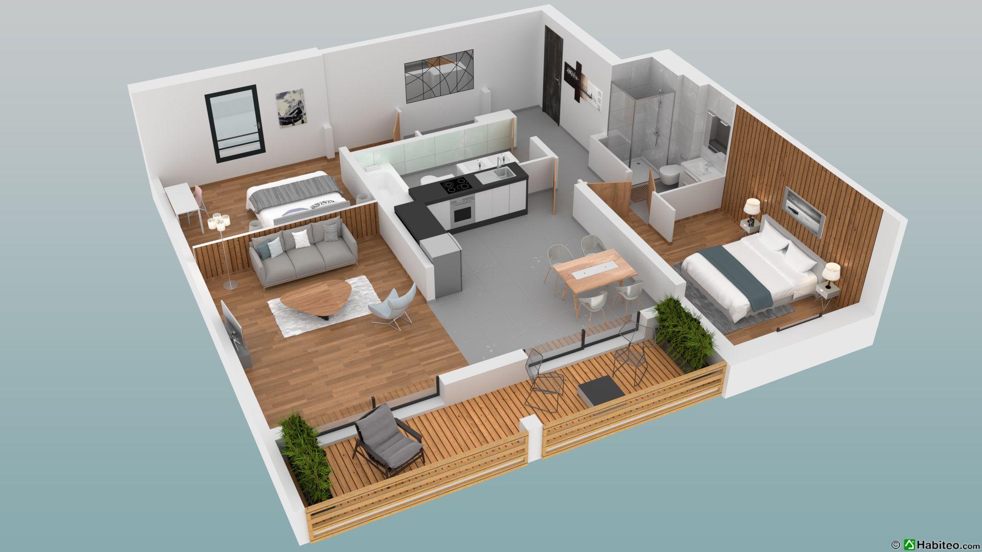2 BEDROOM 79 M2 APARTMENT IN NEW LUXURY DEVELOPMENT, CHAMONIX LES PRAZ
